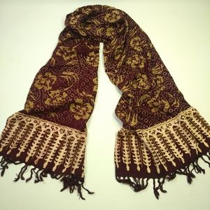 Rayon Scarf - Handmade in Indonesia